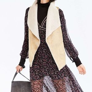 Urban outfitters Ecote cozy Sherpa vest